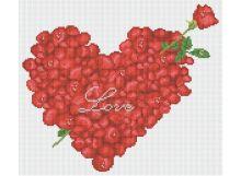 Мозаичные картины. Большое сердце (054-ST )