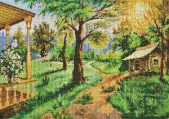 Мозаичные картины. Дорожки-тропинки (167-ST )