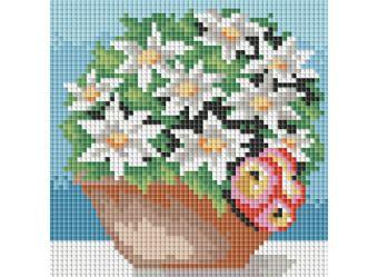 Мозаичные картины. Комнатные цветы (064-ST )