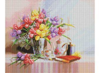 Мозаичные картины. Летняя композиция (168-ST )