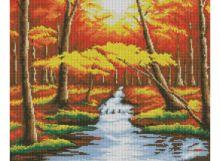Мозаичные картины. Оранжевый лес (146-ST )