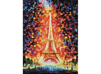 Мозаичные картины. Париж - огни Эйфелевой башни (159-ST )
