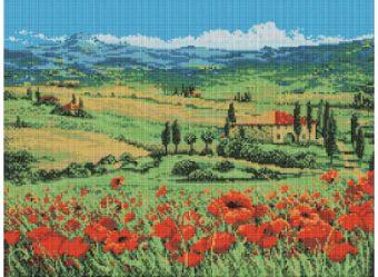 Мозаичные картины. Цветущие маки (164-ST )