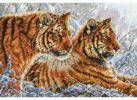Набор для хобби и творчества Наборы для вышивания. Амурские тигры (2333-14 )