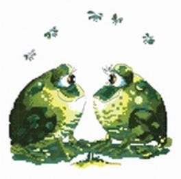 Наборы для вышивания. Влюблённые лягушки (819-14 )