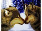 Набор для хобби и творчества Наборы для вышивания. Два волка (2862-14 )
