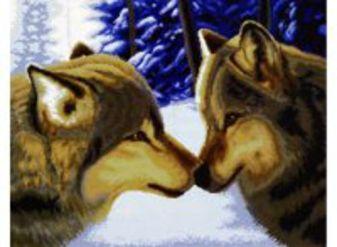 Наборы для вышивания. Два волка (2862-14 )