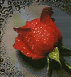 Наборы для вышивания. Красный бутон (1030-14 )