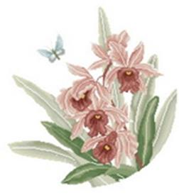 Наборы для вышивания. Нежные цветы (1161-14 )