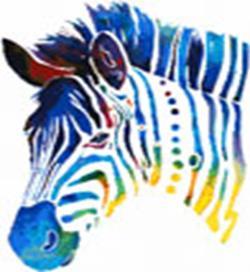 Набор для хобби и творчества Наборы для вышивания. Радужная зебра (4202-14 )