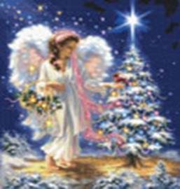 Наборы для вышивания. Рождественский Ангел (5555-14 )
