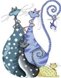 Набор для хобби и творчества Наборы для вышивания. Счастливое семейство (4019-14 )