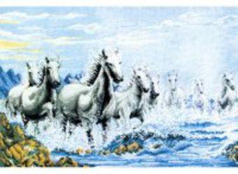 Наборы для вышивания. Табун лошадей (1015-14 )