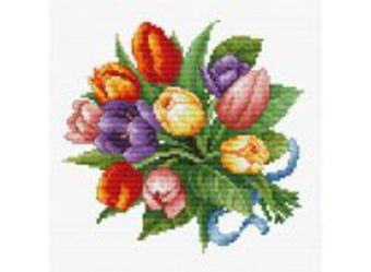 Набор для хобби и творчества Наборы для вышивания. Тюльпаны (6013-14 )