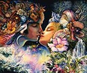 Наборы для вышивания. Фантазия поцелуя (5012-14 )