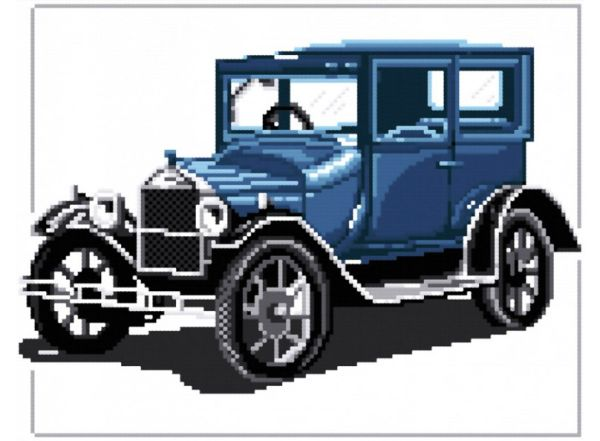 """Наборы для вышивания. Форд """"Т"""" 1927 (405-14 )"""