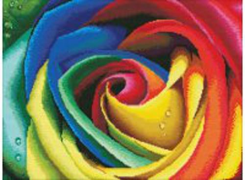 Набор для хобби и творчества Наборы для вышивания. Цветные лепестки (2645-14 )