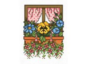 Наборы для вышивания. Цветочное окно (744-14 )