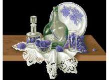 Наборы для вышивания в формате 3D. Голубой натюрморт (7060-3D )