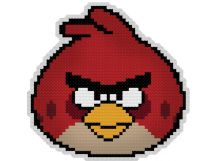Наборы для вышивания. Брелок 6060 Злая птица