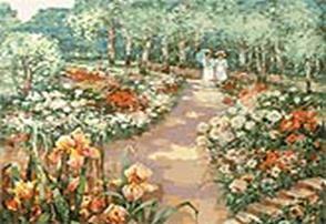 Живопись на цветном холсте 40*50 . Сто лет назад (042-AB-C) набор для творчества хансибэг живопись на холсте 40 50см пионы в букете