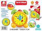 Часы EH80248R обучающие, со светом и звуком, на ба