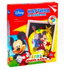 "Картина из пайеток Disney ""Микки Маус"""