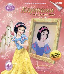 Картина из пластилина Disney