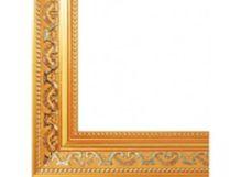 Багетные рамы 30*40. Baroque (золотой) (1520-BL)