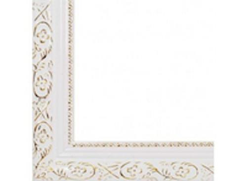 Багетные рамы 40*50. Antique (белый) (2575-BB)