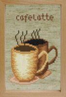 Набор для хобби и творчества Наборы для вышивания с рамкой. Кофе (202-EF)