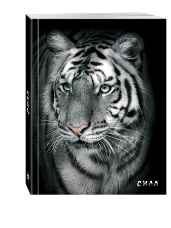 Блокнот настоящего хищника (Белый тигр). А5
