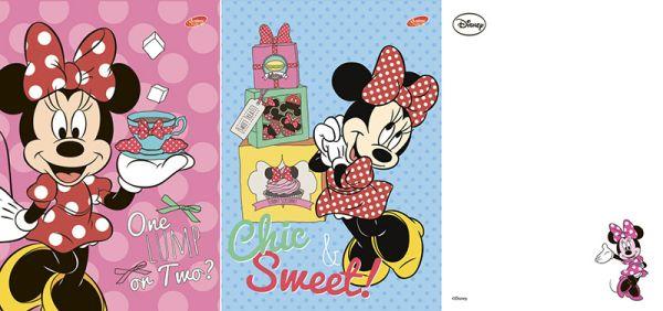 Бл 40л Клей 120*170 D3501/2-ЕАС твин УФ Minnie Mouse