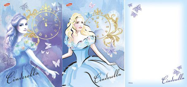Бл 40л Клей 120*170 D3632/2-ЕАС твин УФ Cinderella