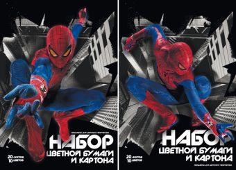 Бум и карт цв д/дет тв 10цв 20л(4мет) Папка 200*290 SM4F24-g,SM4F25-g-EAC Spider-man