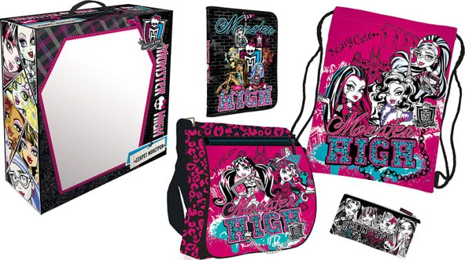 MHBZ-US1-51BOX5-V4 Набор подарочный Monster High