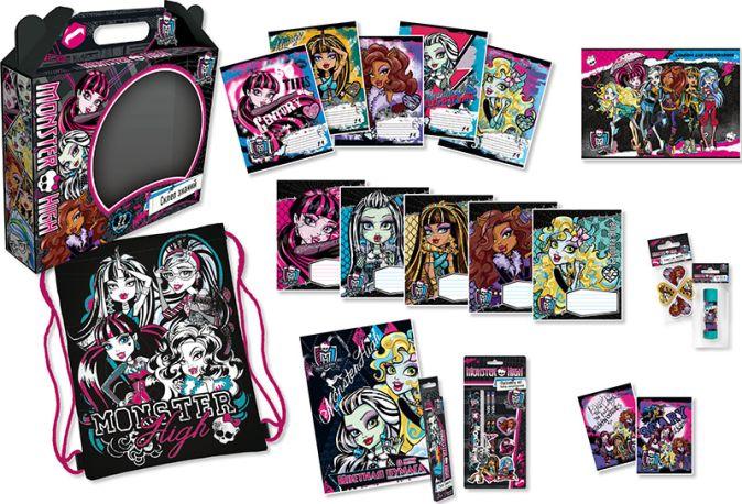 MHBZ-US9-HIT25 Набор подарочный Monster High