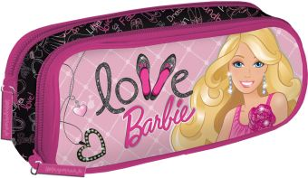 BRAB-RT2-433 Пенал с двумя отделениями. Размер8 х 21 х 5 см, упак. 6//48шт.Barbie