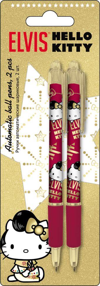 HKAP-US1-116-BL2 Ручки автоматические шариковые, цвет пасты синий, 2 шт. Печать на корпусе - термоперенос. Упаковка - блистер, 500 г/м2, 4+1, европодв