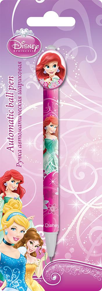 PRBB-US1-122-BL1 Ручка шариковая с фигурным клипом в блистере.  Размер 20 х 7 х 1,5 см Упак. 48/384 шт. Princesses