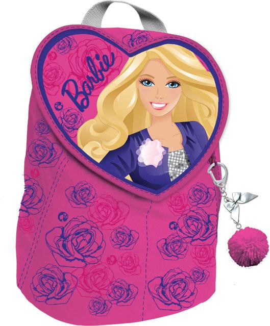 BRBA-UT1-341 Рюкзачок для свободного времени с клапаном-сердечком. Размер 32 х 25 13 см. Упак. 2//36 шт. Barbie