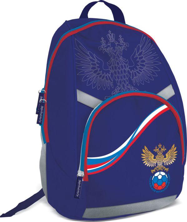 RFAB-UT1-7068 Рюкзак школьный,спинка поролон. Размер 39 x 29 x 13, упак. 3//12шт. Российский Футбольный Союз (РФС)