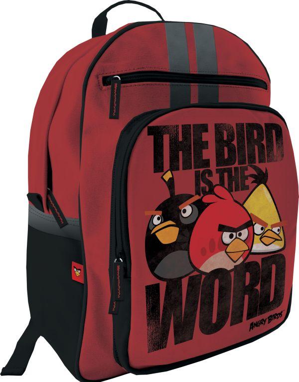 ABAA-UT1-507S Рюкзак.  Размер 38 х 29 х 15 см,  упак. 3//12 шт. Angry Birds