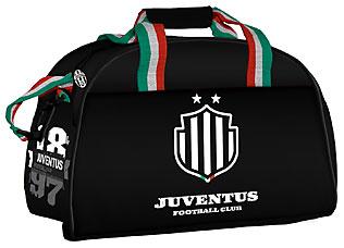 JFC-11T-3452 Сумка спортивная средняя 26х40х22 Juventus