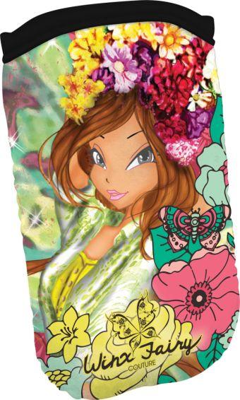 WXBA-UT1-57033 Чехол для мобильного телефона из неопрена Размер 13,5 х 7 см Упак. 12/36/144 шт. Winx Fashion (Winx Fairy Couture)