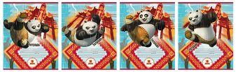 Тетр 18л скр А5 лин PND2/4-VQ полн УФ Kung Fu Panda