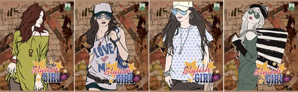 Тетр 48л скр А5 кл 7466/4-EAC Style Girl