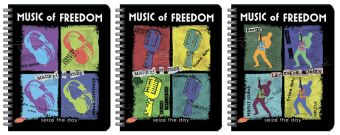 Тетр 80л Wсп А5 кл 7421/3-EAC твин УФ Music of Freedom