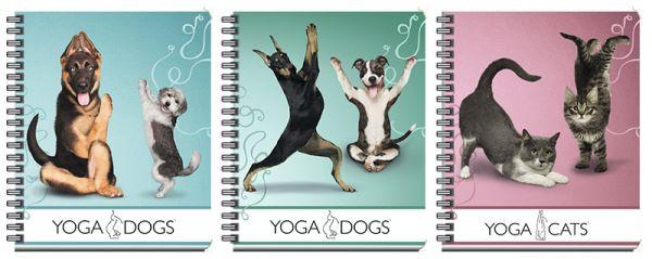 Тетр 80л Wсп А5 кл YD57/3-EAC полн УФ Yoga Dogs