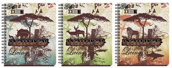 Тетр 96л Wсп А5 кл 7426/3-EAC полн УФ Living Nature - африка
